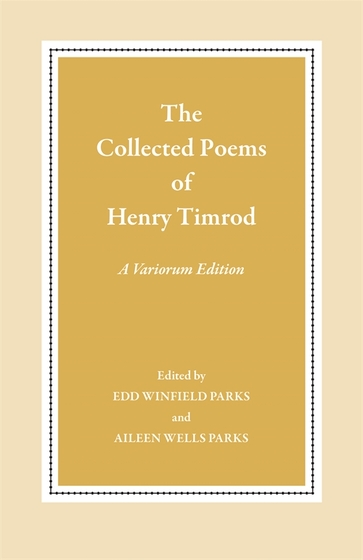 The Collected Poems of Henry Timrod