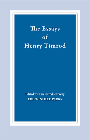 The Essays of Henry Timrod