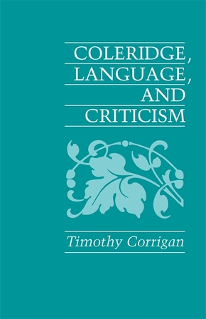 Coleridge, Language and Criticism
