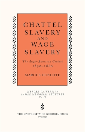 Chattel Slavery and Wage Slavery