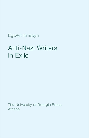 Anti-Nazi Writers in Exile