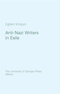 Anti-Nazi Writers in Exile