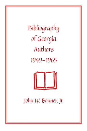 Bibliography of Georgia Authors, 1949–1965