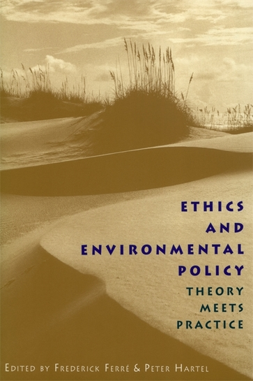Ethics and Environmental Policy