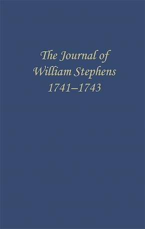 The Journal of William Stephens, 1741—1743