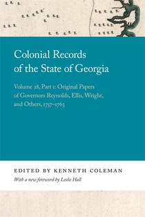 Colonial Records of the State of Georgia