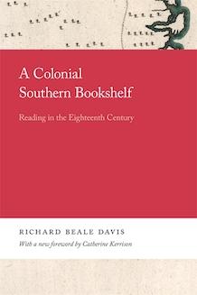 A Colonial Southern Bookshelf