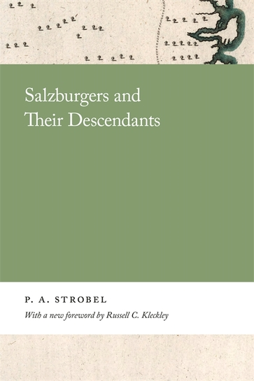 Salzburgers and Their Descendants